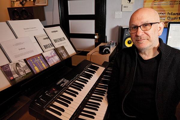Keeping composed: Mathew Rosenblum