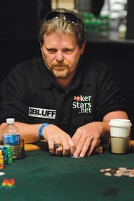 Kent Senter at the World Series of Poker - COURTESY OF POKERSTARS.NET