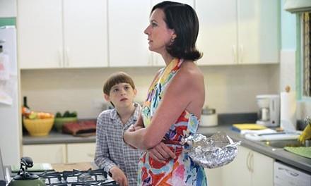 Kitchen conference: Dylan Riley Snyder and Allison Janney