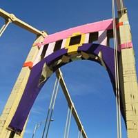 Knit the Bridge  Photo by Lisa Cunningham
