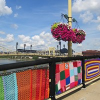 Knit the Bridge  Photo by Lisa Cunningham