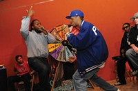 Knowledge and Jon Quest at Rhyme Calisthenics - PHOTO COURTESY OF VAUGHN WALLACE