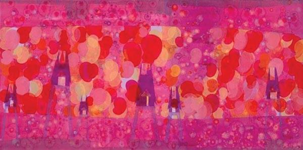 "Kuzana Ogg's painting ""Sujeonghwa"""
