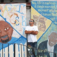 Kyle Holbrook is using art to clean up blight in the Hill District