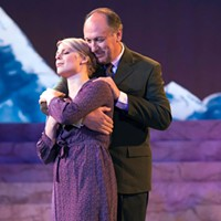 Lara Hayhurst and Jeff Howell in Pittsburgh Musical Theater's <i>The Sound of Music</i>.