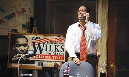 Late August: Morocco Omari in Pittsburgh Public Theater's Radio Golf - PHOTO COURTESY OF RIC EVANS.