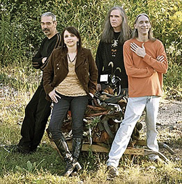 Laura B. with her new band