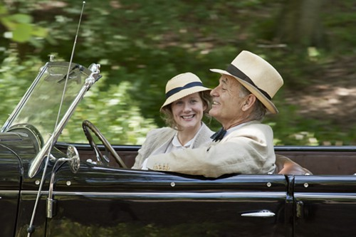 Laura Linney and Bill Murray, in Hyde Park on Hudson