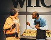 Laurie Klatscher and David Anthony Berry in the REP's <i>Lost Boy Found in Whole Foods</i>.