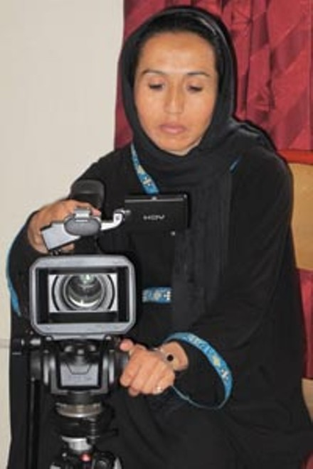 Learning video production in Kabul