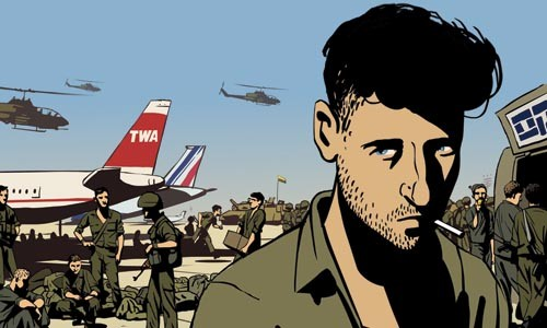 Life during wartime, in Waltz With Bashir