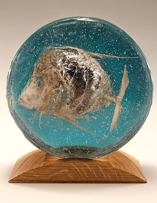 Lifeforms at Pittsburgh Glass Center, July 5-Nov. 17. - ART BY JACCI DELANEY.