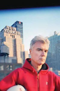 Lifetime piling up: David Byrne, Nov. 7