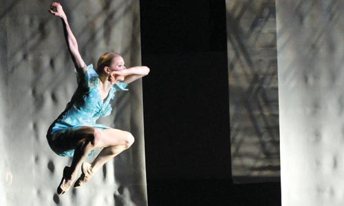 Light/The Holocaust and Humanity Project. - PHOTO BY RICH SOFRANKO, COURTESY PITTSBURGH BALLET THEATRE.