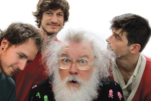 Like goddamn Santa Claus: R. Stevie Moore, with Tropical Ooze - COURTESY OF JON DEMIGLIO