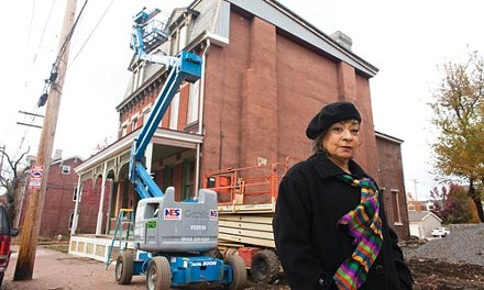 Linda Nelson, chairperson of the Manchester Citizens Council, says the neighborhood has fought hard to overcome decay and perception. - RENEE ROSENSTEEL