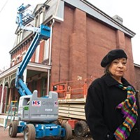 Linda Nelson, chairperson of the Manchester Citizens Council, says the neighborhood has fought hard to overcome decay and perception.