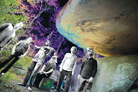 Living under a rock: Olivia Tremor Control - PHOTO COURTESY OF JASON THRASHER AND AMY HAIRSTON
