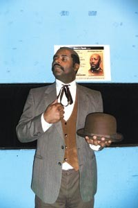 Local hero: Wali Jamal plays Pittsburgh's 19th-century Renaissance man, Martin R. Delany, for History's Flipside.