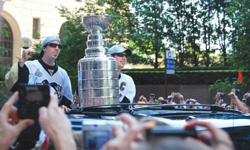 Lords of the Cup: Marc-Andre Fleury and Sidney Crosby - CHARLIE DEITCH