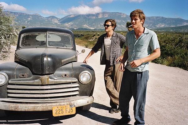 Lost in America: Dean Moriarty (Garrett Hedlund) and Sal Paradise (Sam Riley)
