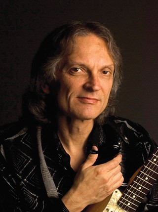 Louisiana native Sonny Landreth is an authority on blues and slide guitar.
