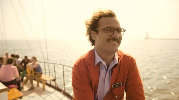Love boat: Theodore (Joaquin Phoenix) and Samantha take a trip to Catalina.