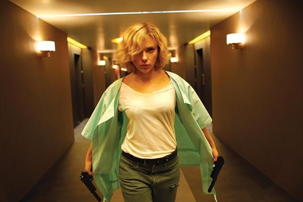 Lucy Film, Morgan Freeman, Scarlett Johansson