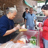 Lucy Nguyen runs a popular, seasonal <i>banh mi </i>stand in the Strip District