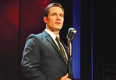 Luke Macfarlane in City Theatre's Sam Bendrix at the Bon Soir. - PHOTO COURTESY OF SUELLEN FITZSIMMONS.