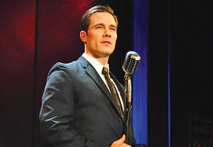 Luke Macfarlane in City Theatre's Sam Bendrix at the Bon Soir. - PHOTO COURTESY OF SUELLEN FITZSIMMONS.