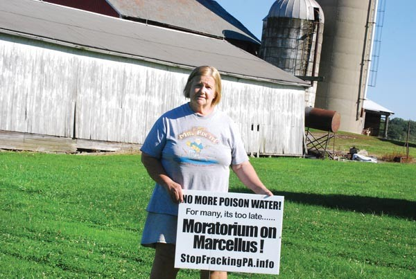 Maggie Henry says she'll continue to fight gas drilling near her Lawrence County farm