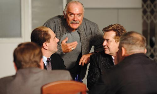 Making his point: actor-director Nikita Mikhalkov