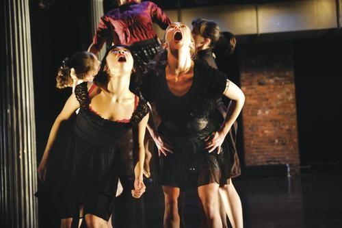 Mana Kawamura and her troupe perform. - PHOTO COURTESY OF PAULA LOBO.