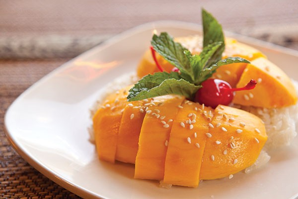 Mango with sticky rice
