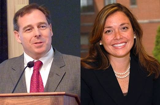 Mark Patrick Flaherty and Chelsa Wagner