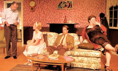 Married, no children: Off the Wall Theater's Who's Afraid of Virginia Woolf?