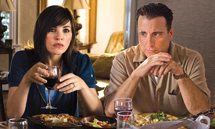 Married, with secrets: Julianna Margulies and Andy Garcia