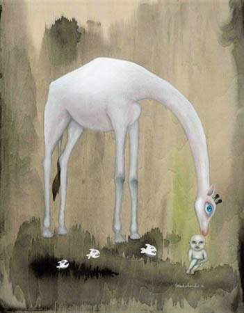 "Masha Vereschenko's ""White Giraffe."""