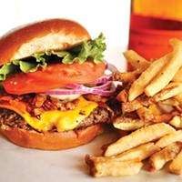 Mattola Burger and fries