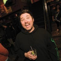 "Meet comic and ""multi-tasking pot smoker"" Doug Benson."
