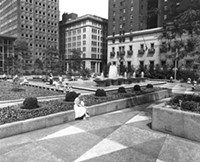 Mellon Square circa 1960