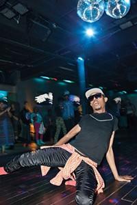 Melvin P. at the PATF kiki ball