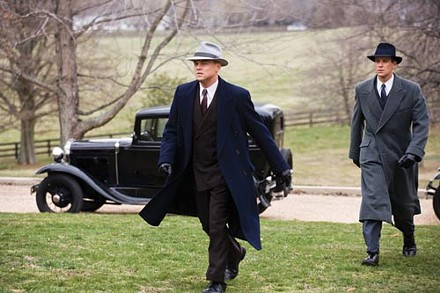 Men of action: J. Edgar Hoover (Leonardo Dicaprio) and Clyde Tolson (Armie Hammer)