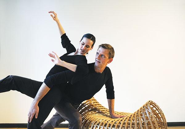 Michele de la Reza and Peter Kope