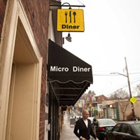 Micro Diner Micro Diner exterior Photo by Heather Mull