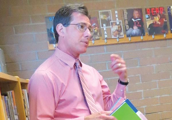 Mike Gruber teaches Mental Health First Aid.