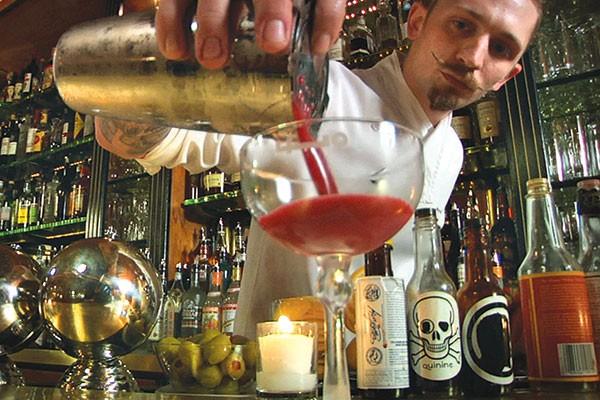 Mix-master: Steve Schneider, in Hey Bartender
