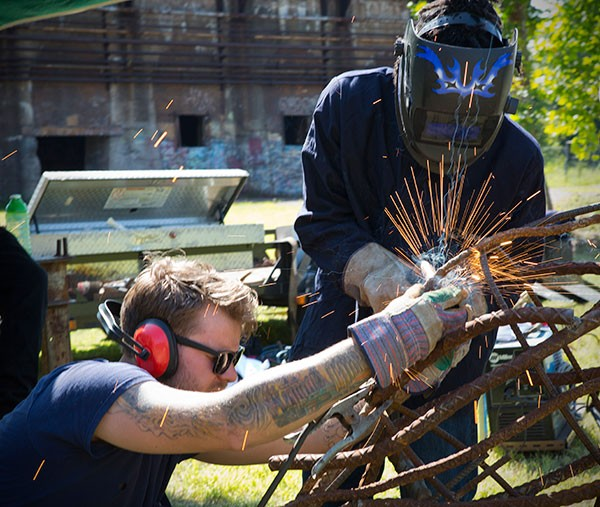 Mobile Sculpture Workshop instructor Chad Sekely