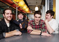 Modern baseball at Smiling Moose